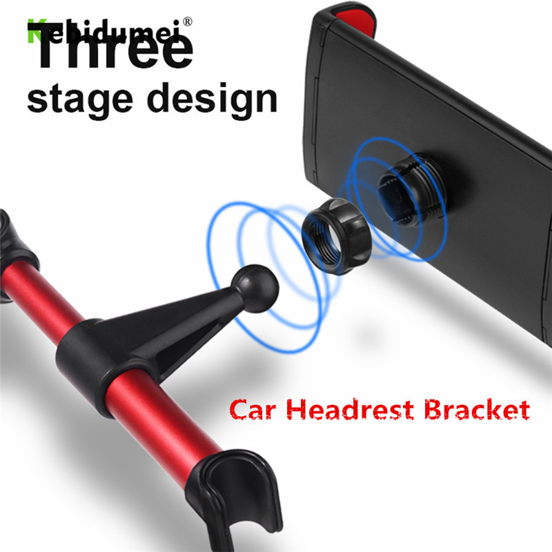 4-11 inch Phone Tablet PC Car Holder Stand Back Auto Seat Headrest Bracket Support Accessories For iPhone X 8 iPad Mini