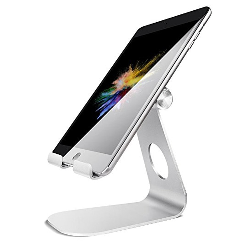 Desktop Stand Holder for iPad 2018 Pro 9.7,10.5, Air mini 2 3 4, Kindle,Nexus,Accessories,Tab,E-reader, other Tablets 4-13 inche