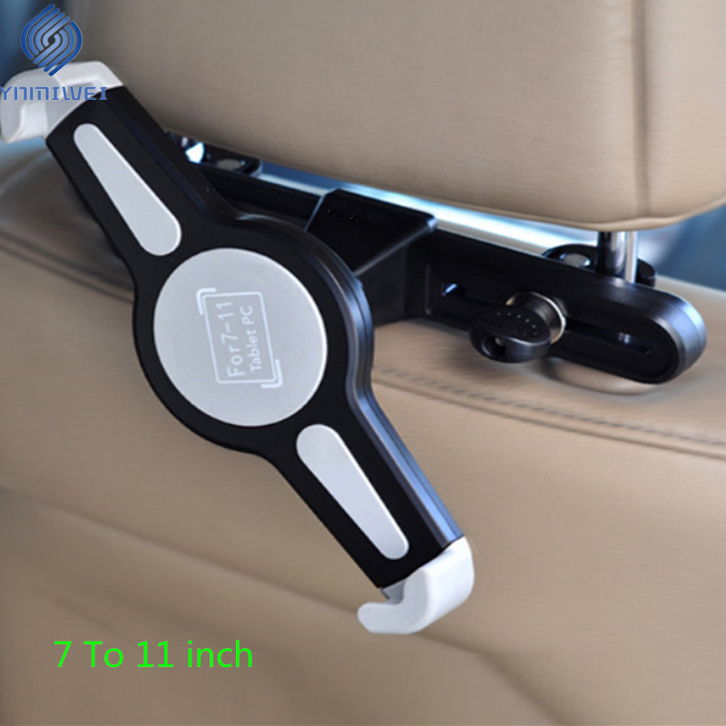 Headrest Mount For 7.0 To 11 Inch Car Tablet Holder Stand Back Seat Mounting Universal For Ipad Samsung Xiaomi Car Accessories