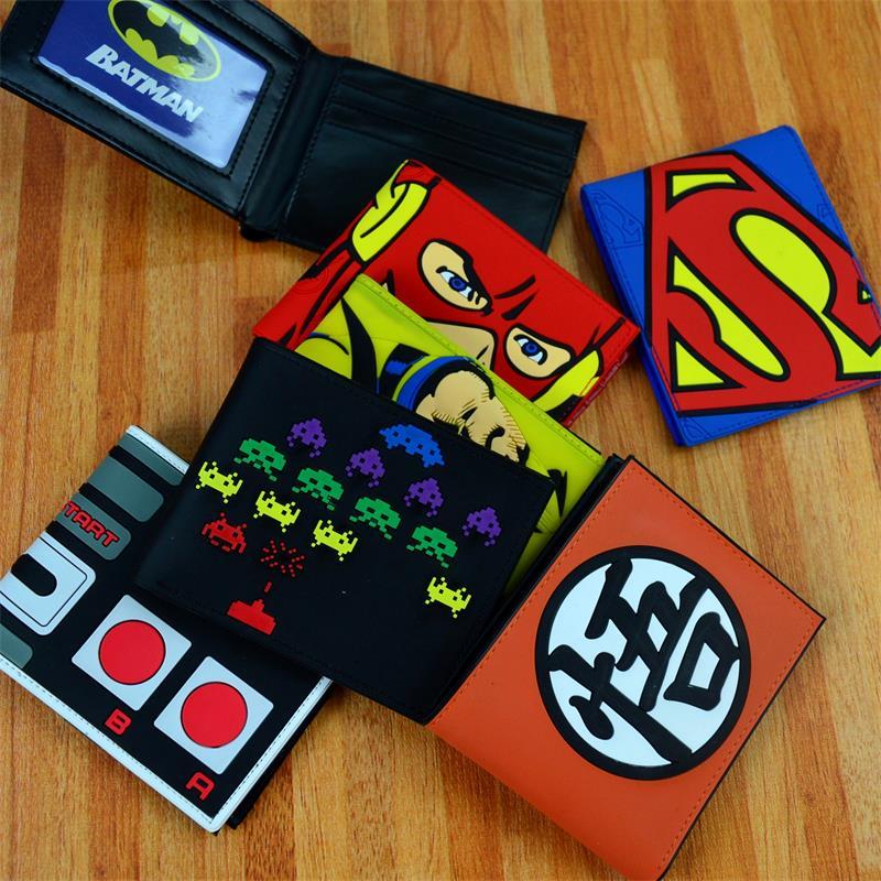 Man Wei marvel Avengers Captain America, Spider-Man, Iron Man 2 Aegis Board wallet periphery