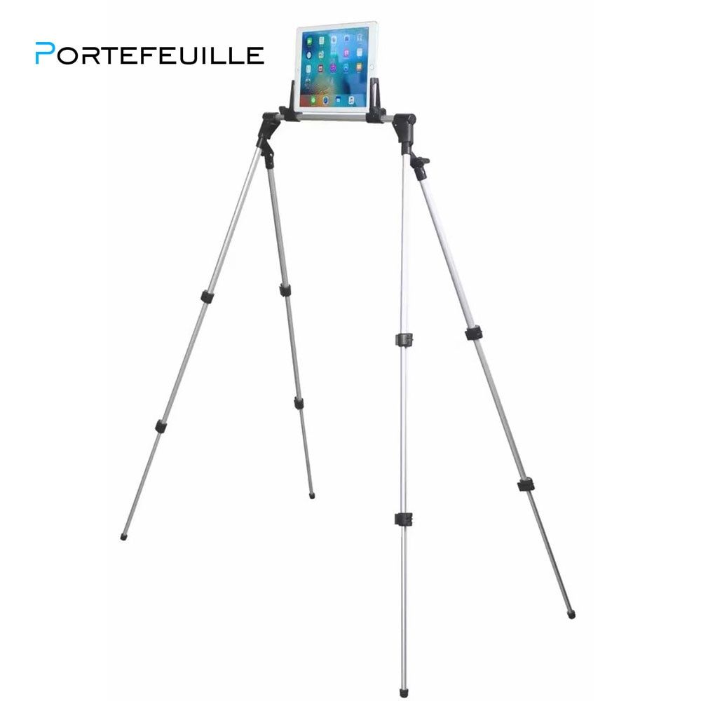 Portefeuille Lazy Tablet Holder For iPad Pro 10.5 12.9 Air 2 Mini mi pad 4 Porta Samsung Tablet Stand Mount soporte Accessories