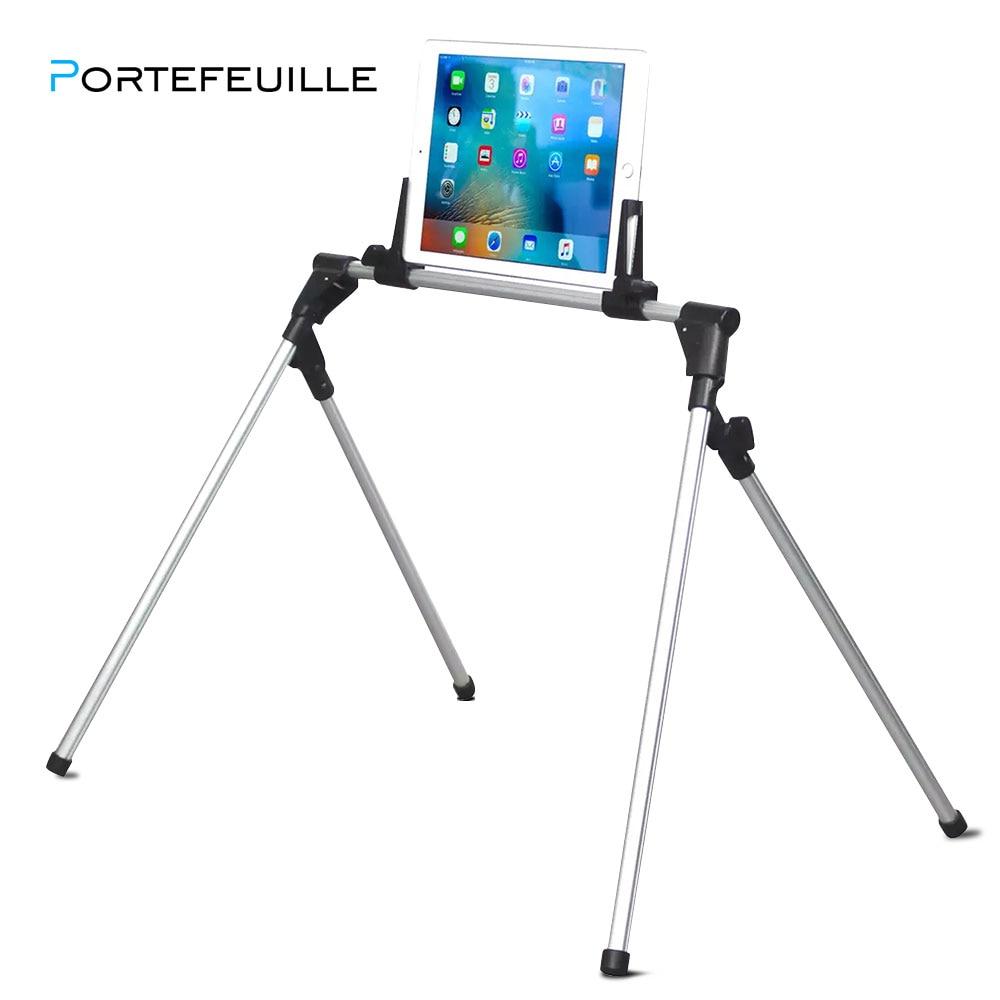 Portefeuille Tablet Mount Holder Floor Desk Sofa Bed Stand For iPad Pro 12.9 10.5 mini 4 2 Xiaomi mi Pad 4 3 Soporte Accessories
