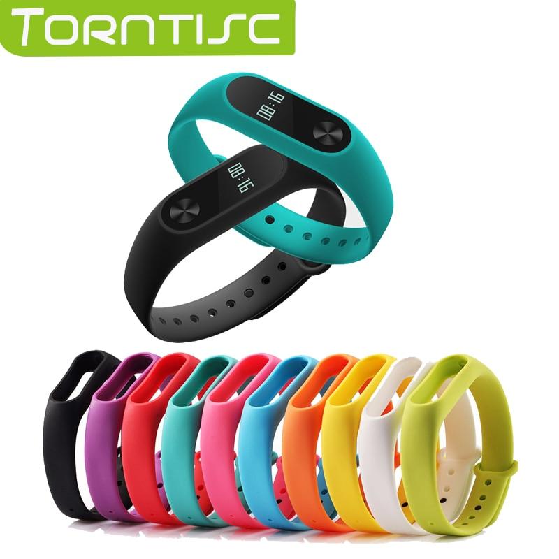 1 pcs Xiaomi mi band 2 Wrist Strap Belt Silicone Colorful Wristband for Mi Band 2 Smart Bracelet for Xiaomi Band 2 Accessories
