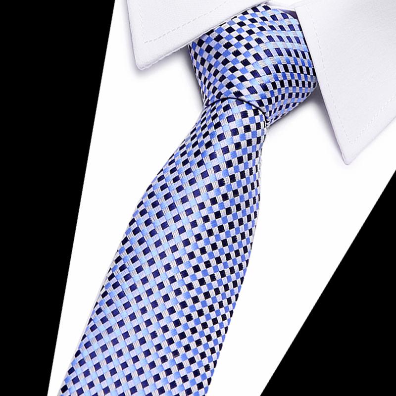 100% Silk tie skinny 7.5 cm floral necktie high fashion plaid ties for men slim cotton cravat neckties mens 2018 gravatas