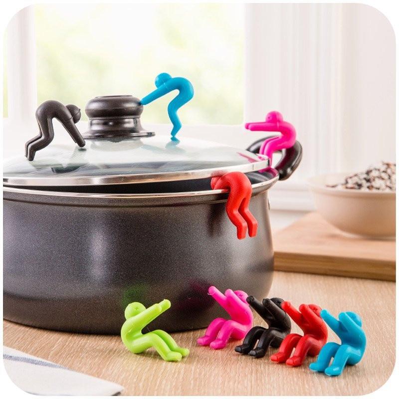 1Pcs Kitchen Gadgets Raise The Lid Overflow Device Stent for Kitchen Tools Home Kitchen Accessories Mutfak Aksesuarlari Cocina.Q