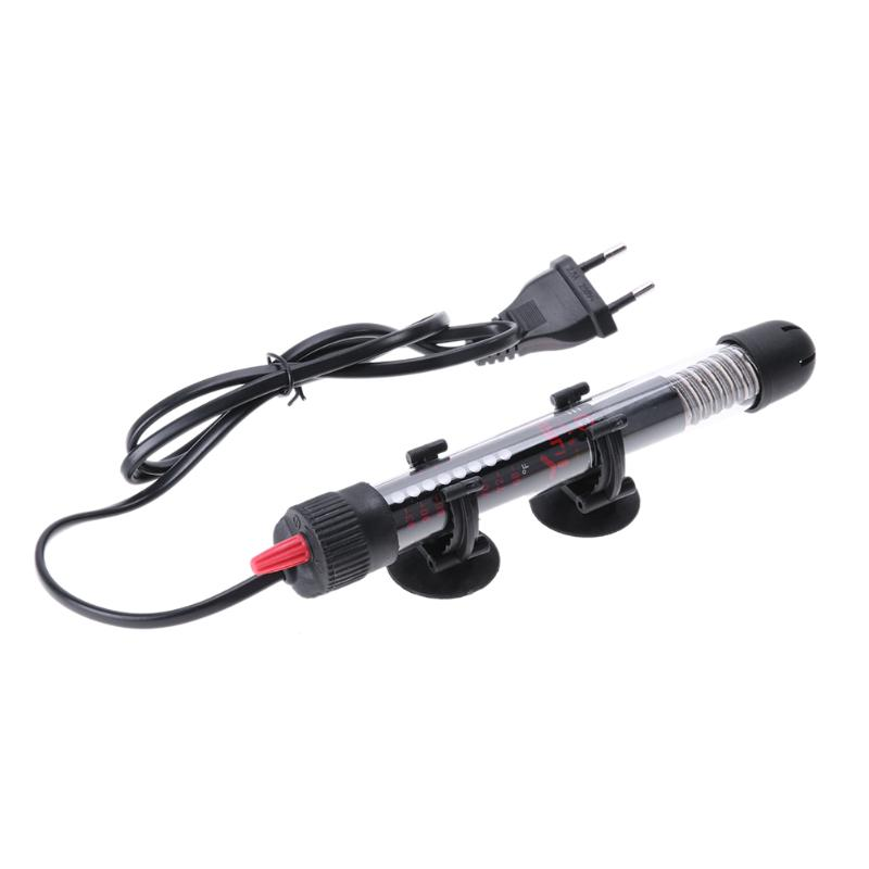 Aquarium Heater Rod 25/50/100/200/300W Aquarium Thermometer Sticker Temperature Controller for Aquarium Fish Tank Accessories