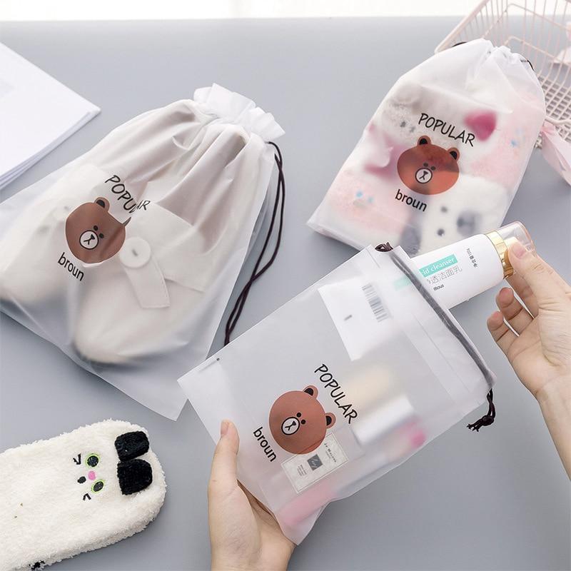 Transparent Cosmetic Bag Travel Makeup Case