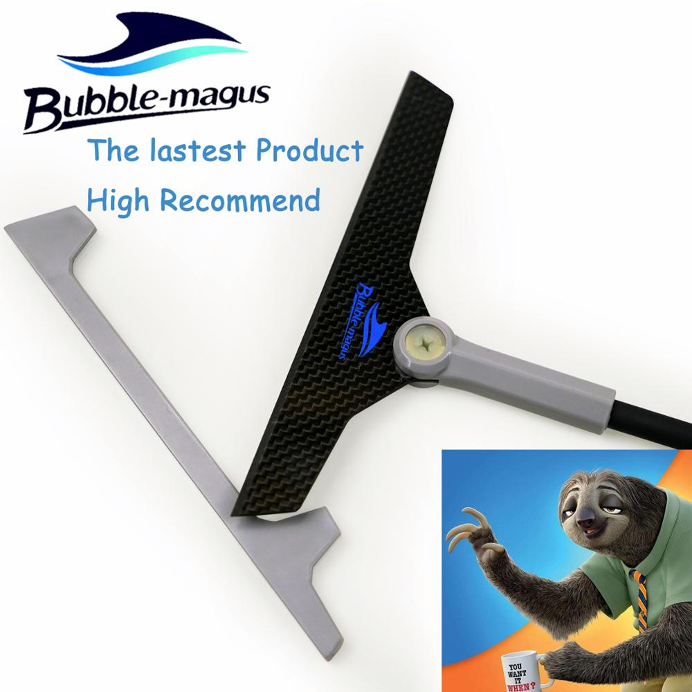 Bubble Magus The Lastest Product Professional carbon fiber Blade Scraper Algae Cleaner for Aquarium Fish Tank Authorized Dealer