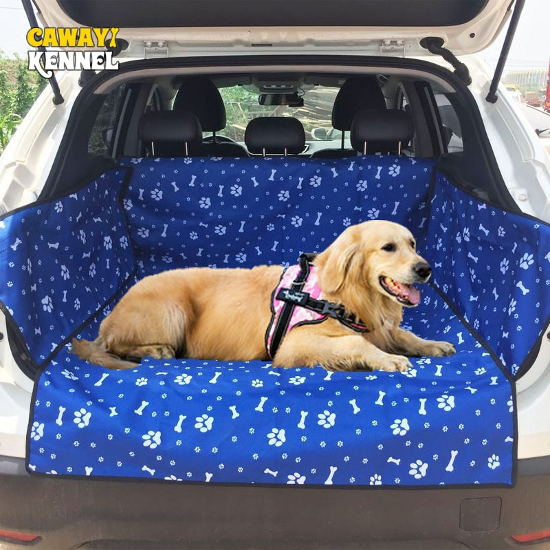 CAWAYI KENNEL Oxford Waterproof Pet Carriers Dog Car Seat Cover Trunk Mat Blanket Carrying for dogs cats transportin perro D1395