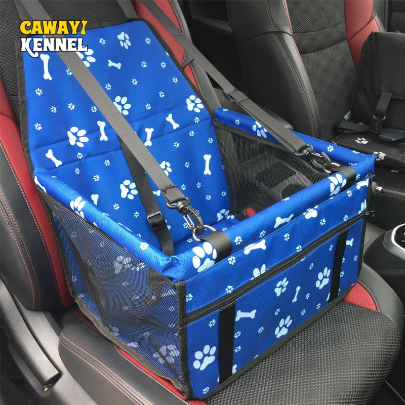 CAWAYI KENNEL Pet Carriers Dog Car Seat Cover Bag Mat Blanket Safety Belt Mat Protector Carrying for dog transportin perro D1396