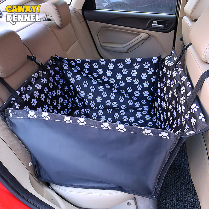 CAWAYI KENNEL Waterproof Pet Carriers Dog Car Seat Cover Mats Hammock Cushion Carrying For Dogs transportin perro autostoel hond
