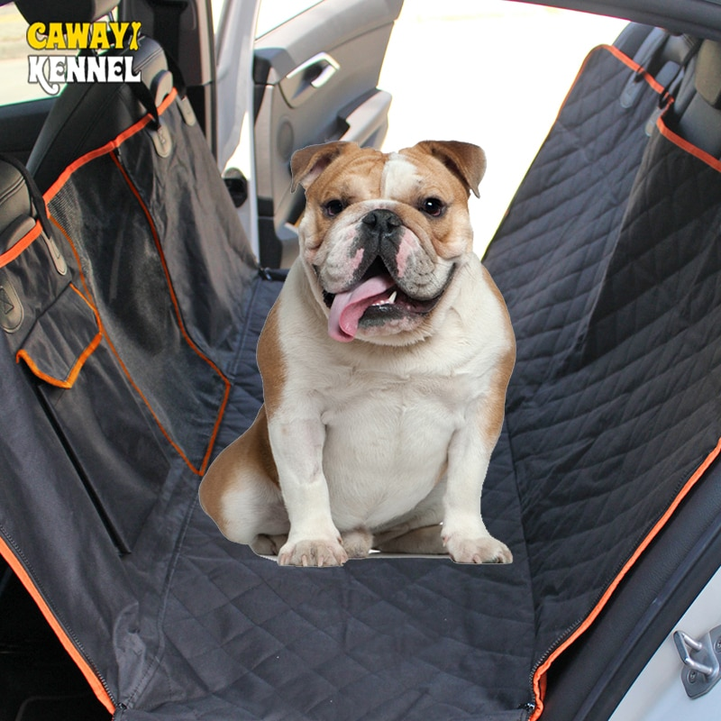 CAWAYI KENNEL Waterproof Rear Back Pet Carriers Dog Car Seat Cover Mats Hammock Protector Carrying for dogs transportin perro