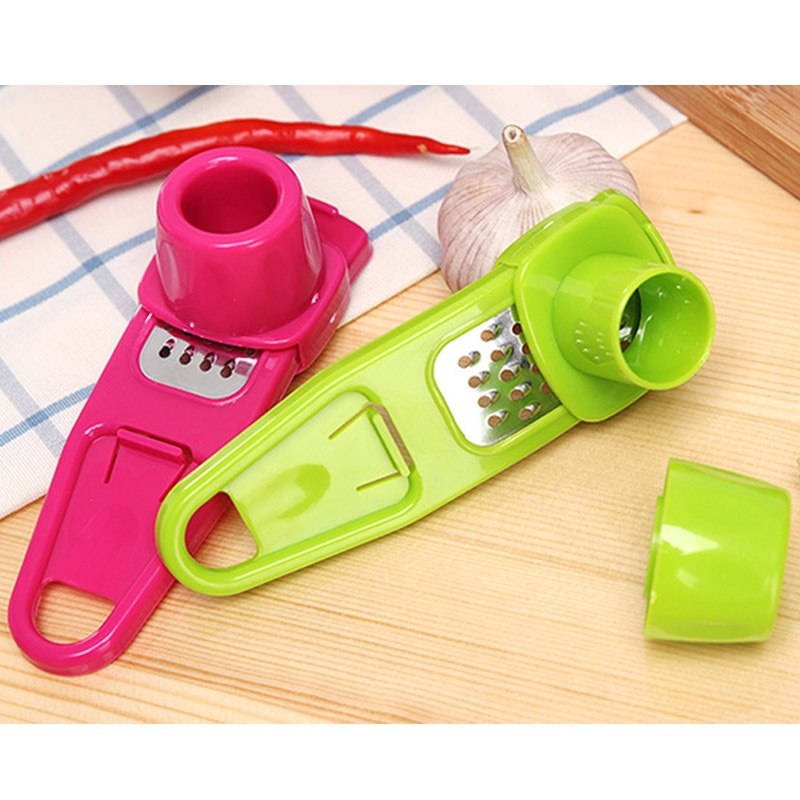 Candy Color Kitchen Accessories Plastic Ginger Garlic Grinding Tool Magic Silicone Peeler Slicer Cutter Grater Planer