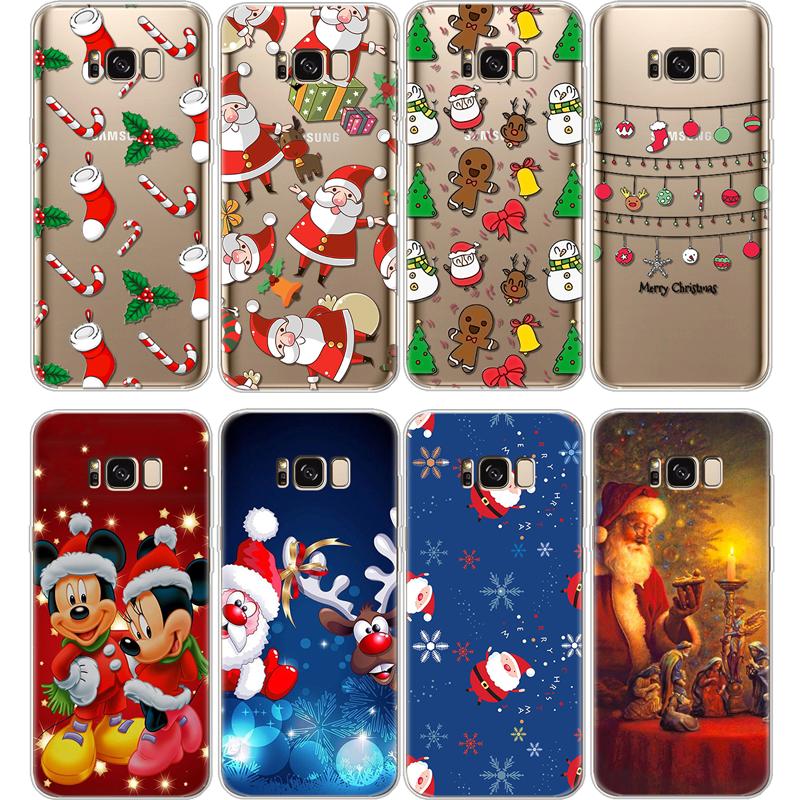 Christmas Gift TPU Coque For Samsung Galaxy J2 J3 J5 J7 Prime S5 S6 S7 Edge S8 S9 Plus A3 A5 A6 A8 Note 8 9 2016 2017 2018 Case