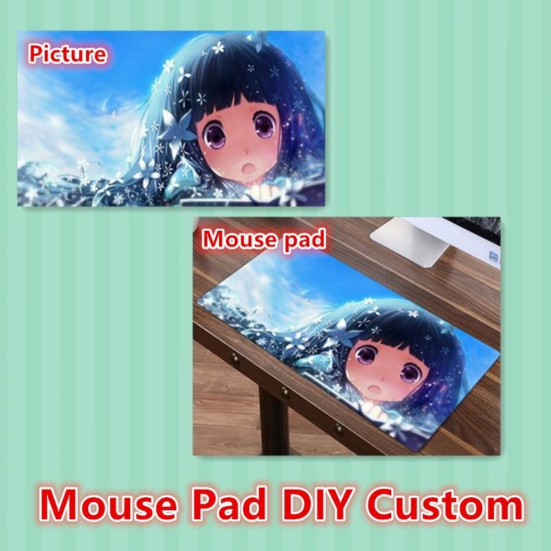 FFFAS DIY Custom Mouse pad XL Super Large MousePad Gamer Gaming Playmat Japan Korea Anime Fashion Keyboard Mat Customized Made
