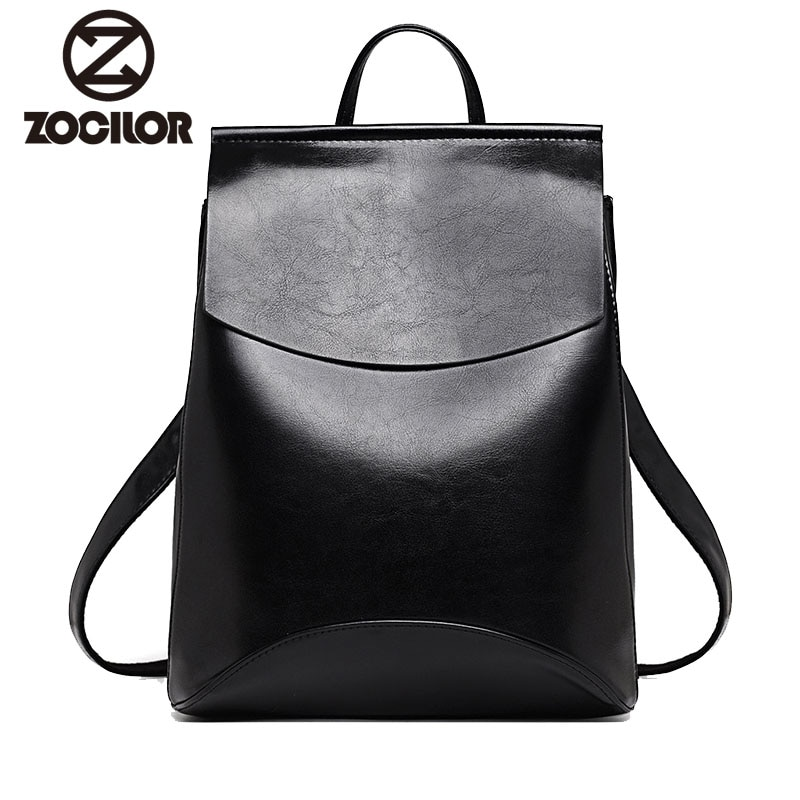 Women Backpack High Quality Youth Leather