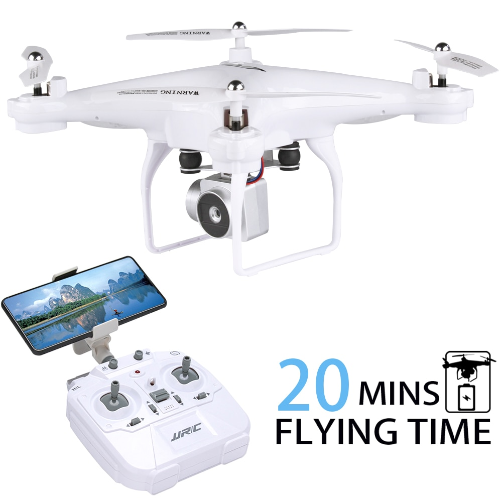 INKPOT Quadrocopter with Camera JJRC H68 RC Drone Profissional Quadcopter High Hold Headless Mode Dron 20 Minutes Playing Time
