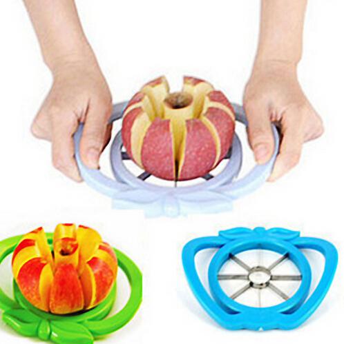 Kitchen Apple Slicer Corer Cutter Pear Fruit Divider Tool Comfort Handle for  Kitchen Apple Peeler  Fast Shipping