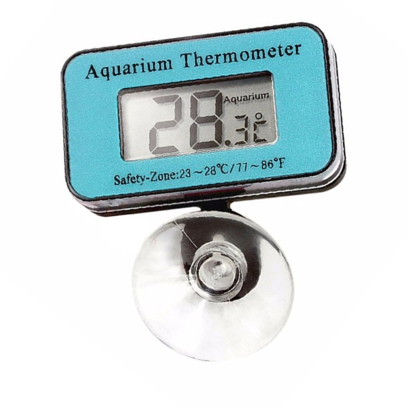 LCD Digital Fish Tank Aquarium Temperature Thermometer digital Marine Temperature Control Products Accessories For Fish Tank Pet