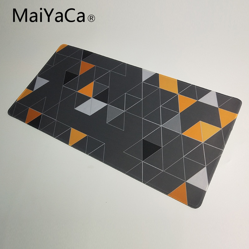 MaiYaCa Mouse pad For Steelseries mouse Triangle wallpaper Extended large gaming Mouse pad for keyboard and mouse 900*400mm