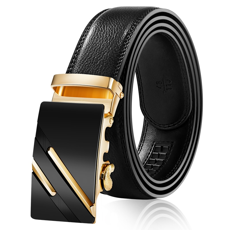 Mens Business Style Belt Designer Leather Strap Male Belt Automatic Buckle Belts For Men Top Quality Girdle Belts For Jeans