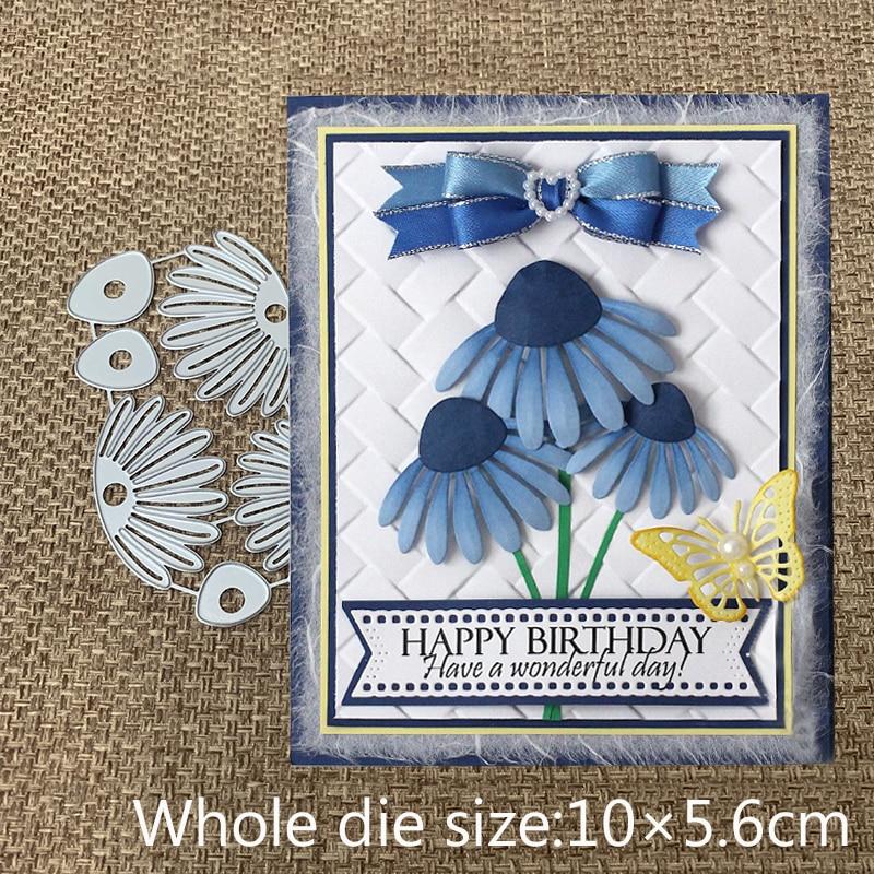 New Design Craft Metal Cutting Dies cut die new flower decoration Scrapbooking Album Paper DIY Card Craft Embossing Die Cuts