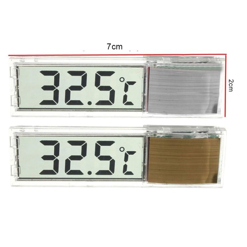 New LCD Digital Fish Tank Aquarium Thermometer Equipment Submersible Water Meter 0C~50C Temperature Alarm Control Tool Products