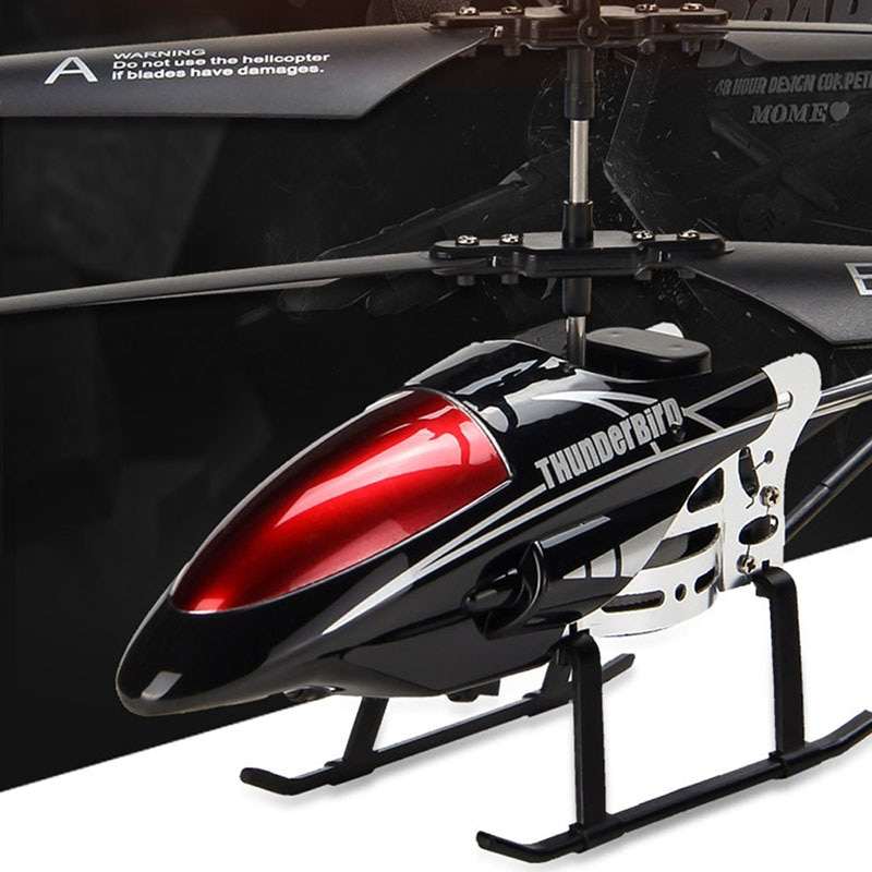 RC Helicopter 3.5 CH Radio Control Helicopter with LED Light Rc Helicopter Children Gift Shatterproof Flying Toys Model