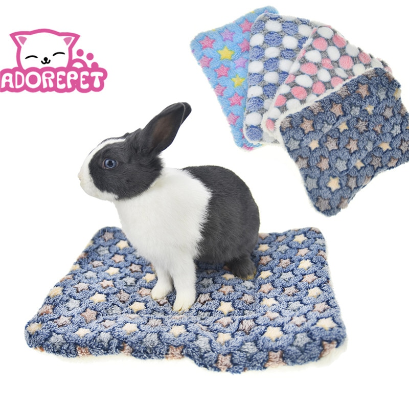 Rabbit Guinea Pig Hamster Pad Bed  Mat Winter Warm Small Animal Dog Squirrel Hedgehog Chinchilla Bed House Nest Cage Accessories