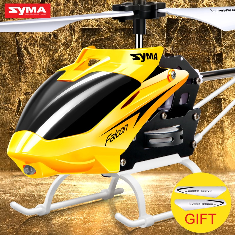 SYMA 2CH W25  electric Indoor Mini RC Aircraft remote control helicopter shatterproof Flying toys model 100% Original
