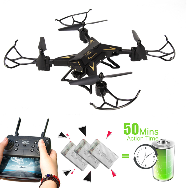 T-Rex Helicopter RC Drone with Camera HD 1080P WIFI FPV Drone Professional Foldable Quadrocopter Long Battery Life Quadcopter