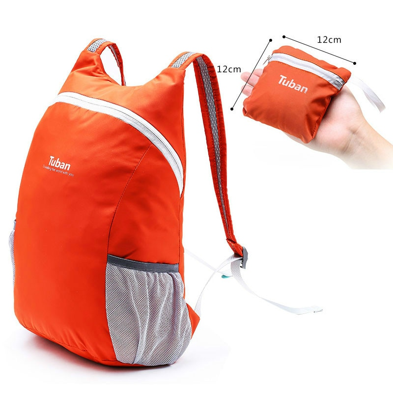 TUBAN Lightweight Nylon Foldable Backpack Waterproof Backpack Folding Bag Portable Men Women Backpack for Travel Mochila Mujer