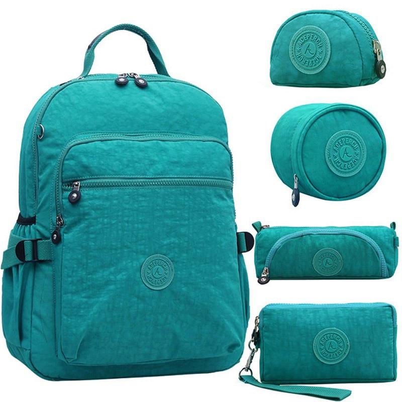 Women Kipled Original Backpacks Girls Multifunction School Waterproof Bags Mochila Escolar Mujer Travel Large Capacity Rucksack