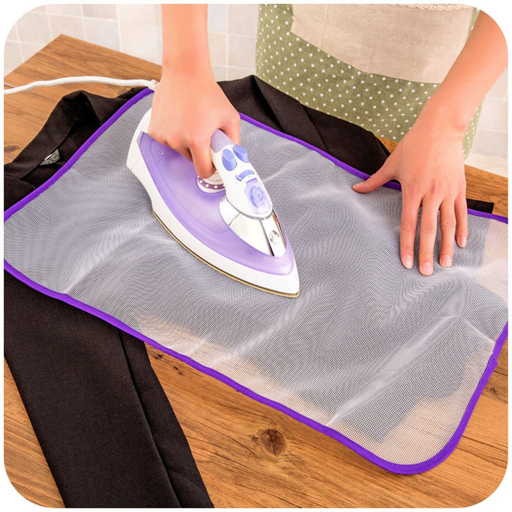 1pc Ironing Board Cover Protective Press Mesh Iron for Ironing Cloth Guard Protect Delicate Garment Clothes Home Accessories Hot