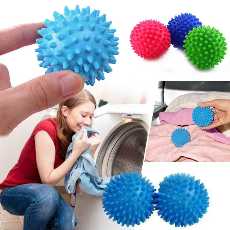 5.5/6.5cm Plastic Laundry washing ball Great Faster Washing Dryer Balls washing Cleaning tool