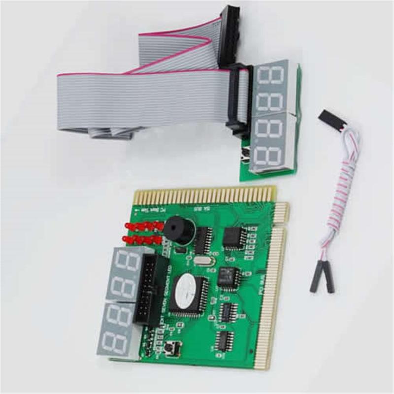 9cm*8.2cm Computer Analysis PCI POST Card LCD Display Motherboard LED 4 Digit Diagnostic Test PC Analyzer For PC Laptop Desktop