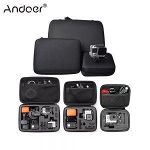 7a6de2e73c1 Andoer Portable Action Camera Case Protective Case for GoPro Hero Sport  Camera Accessory Anti-shock Storage Bag