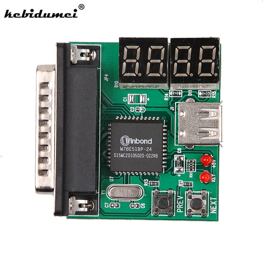 Computer Accessories  PC Diagnostic Card USB Post Card Motherboard Analyzer Tester for Notebook Laptop
