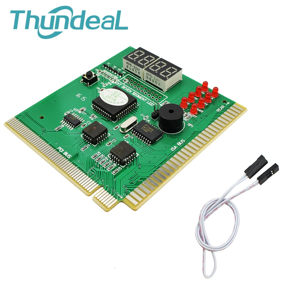 High Quality 4 Digit Display Analyzer Computer LCD Diagnostic Card Motherboard Post Tester PC Analysis PCI Card Networking Tools