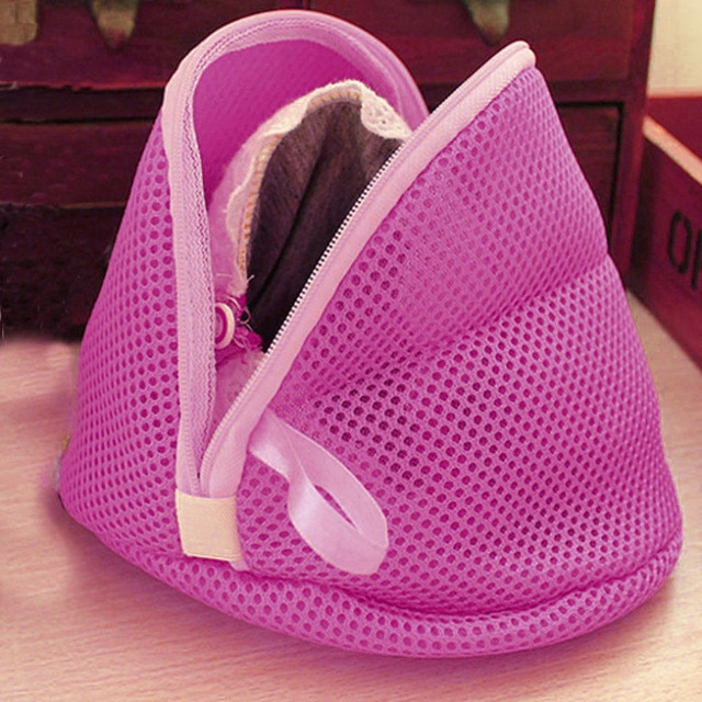 High Quality Women Bra Laundry Lingerie Washing Hosiery Saver Protect Mesh Small Bag DROP SHIP