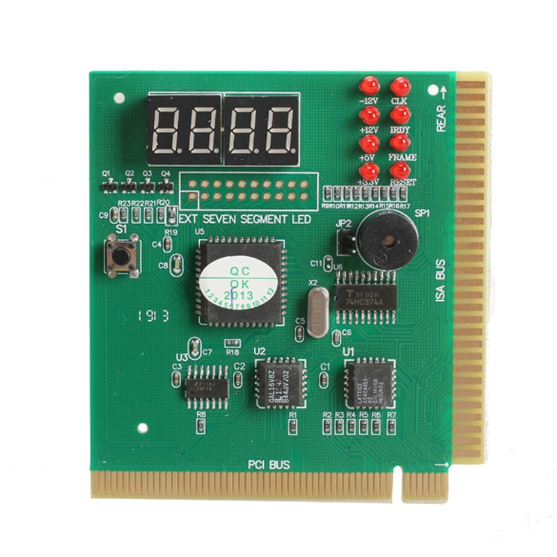 New 4-Digit PCI Post Card LCD Display PC Analyzer Diagnostic Card Motherboard Post Tester Computer Analysis Networking Tools