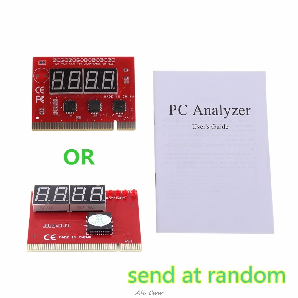New Computer Analysis PCI POST Card Motherboard LED 4-Digit Diagnostic Test PC Analyzer Network Repair Tool Kit