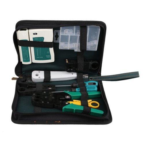 PROMOTION! 11 in 1 Professional Network Computer Maintenance Repair Tool Kit