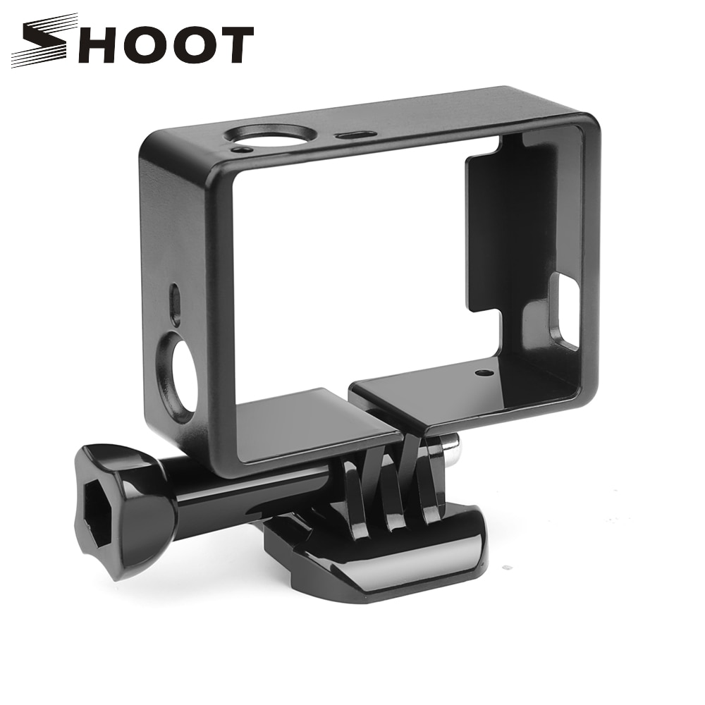 SHOOT Standard Protective Border Frame for Gopro Hero 4 3+ Black 3 Camera Case Protector Mount For Go Pro 3+ 4 Camera Accessory