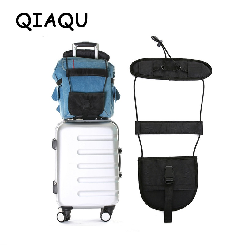QIAQU Elastic Telescopic Luggage Strap Travel Bag Parts Suitcase Fixed Belt Trolley Adjustable Security Accessories Supplies