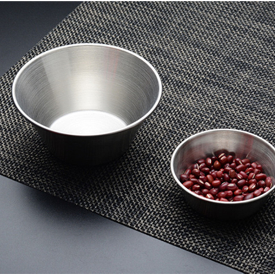 1pcs Side Plates Sauce Plates Stainless Steel Seasoning Pan Sauces Plate Soy Sauce Bowl Kitchen Tool High Quality
