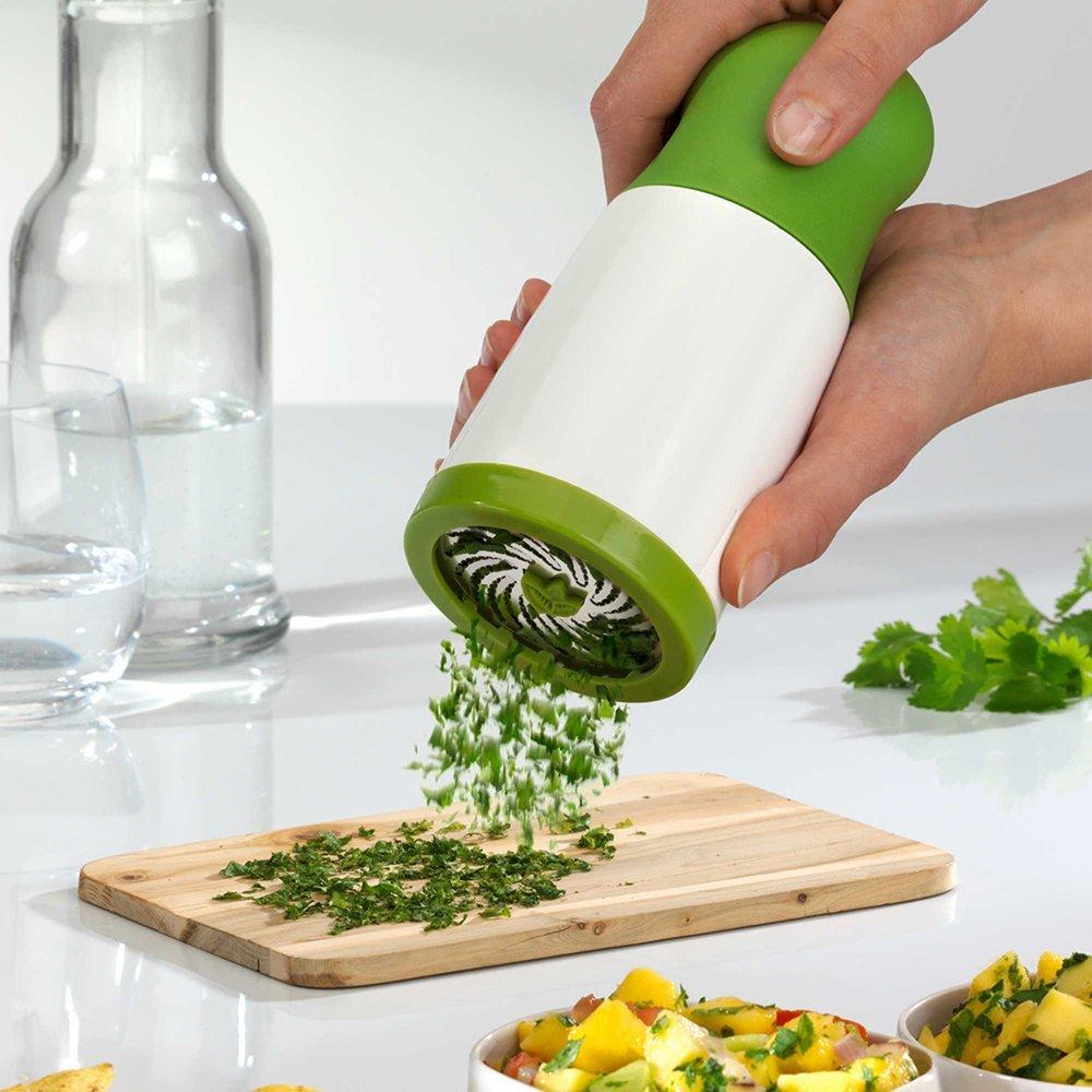 Food Grade Portable Vegetable Garlic Ginger Coriander Chopper Food Cutter Multifunction Kitchen Cooking  Herb Grinder Shredder