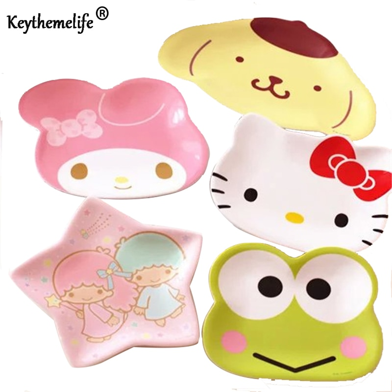 Kitty Cute Dish Frog Star Shape Cat Plate Dog Bowl Cake Display Dish Small Dish Gift Snacks/Nuts/Desserts Plate D