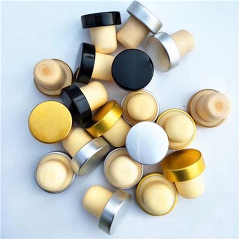 XMT-HOME polymer wine bottle corks wine making accessories cork diameter 21mm bottle caps