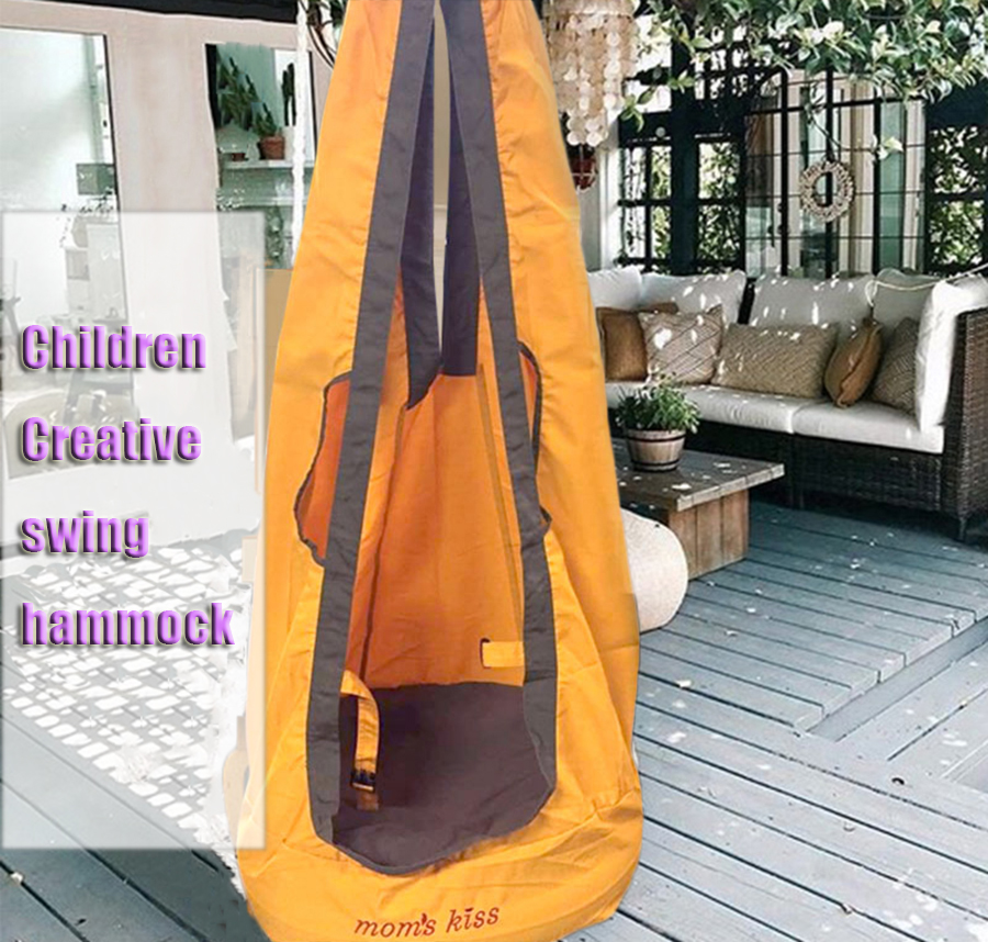 2019 Hot sale Outdoor Children Hammock Garden Furniture Swing Chair Indoor Hanging Seat Child Swing Seat Patio Portable